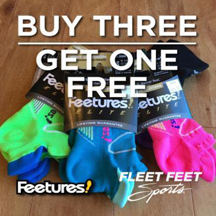 Feetures Buy3Get1free